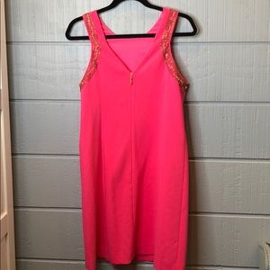 Lilly Pulitzer Dresses - Lily Pulitzer largo cut in beaded shift